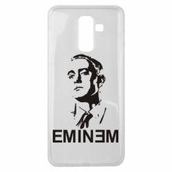 Чехол для Samsung J8 2018 Eminem Logo