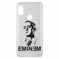 Чехол для Xiaomi Redmi Note 6 Pro Eminem Logo