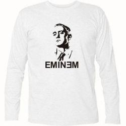 Футболка с длинным рукавом Eminem Logo - FatLine