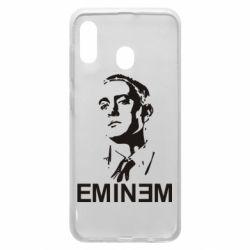 Чехол для Samsung A20 Eminem Logo