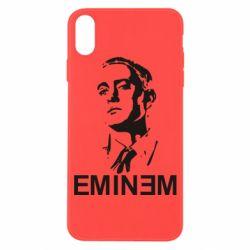 Чехол для iPhone X/Xs Eminem Logo