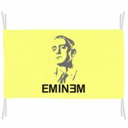Флаг Eminem Logo