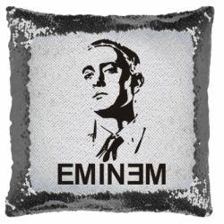 Подушка-хамелеон Eminem Logo