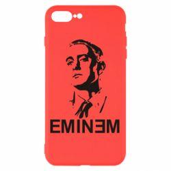 Чехол для iPhone 8 Plus Eminem Logo