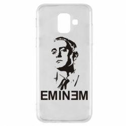 Чехол для Samsung A6 2018 Eminem Logo