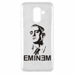 Чехол для Samsung A6+ 2018 Eminem Logo