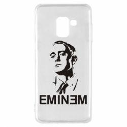 Чехол для Samsung A8 2018 Eminem Logo