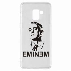 Чехол для Samsung A8+ 2018 Eminem Logo