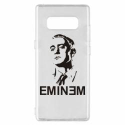 Чехол для Samsung Note 8 Eminem Logo