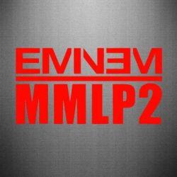 Наклейка Eminem MMLP2 - FatLine