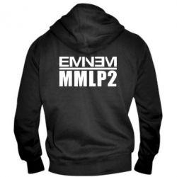 Мужская толстовка на молнии Eminem MMLP2 - FatLine