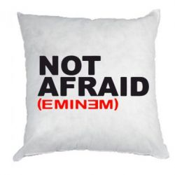 Подушка Eminem Not Afraid