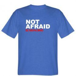 Мужская футболка Eminem Not Afraid - FatLine