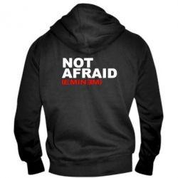 Мужская толстовка на молнии Eminem Not Afraid - FatLine