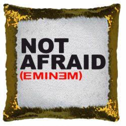 Подушка-хамелеон Eminem Not Afraid