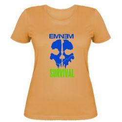 Женская футболка Eminem Survival - FatLine