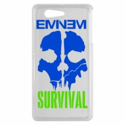 Чехол для Sony Xperia Z3 mini Eminem Survival - FatLine