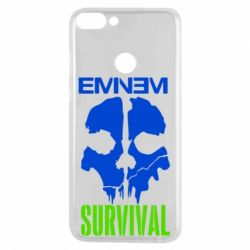 Чехол для Huawei P Smart Eminem Survival - FatLine