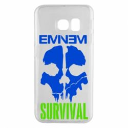 Чехол для Samsung S6 EDGE Eminem Survival