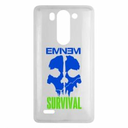 Чехол для LG G3 mini/G3s Eminem Survival - FatLine