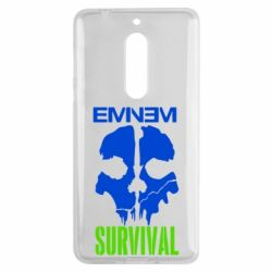 Чехол для Nokia 5 Eminem Survival - FatLine