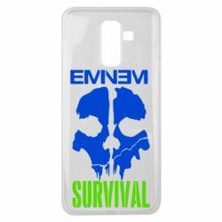 Чохол для Samsung J8 2018 Eminem Survival
