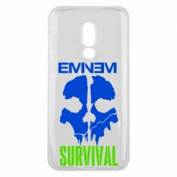 Чехол для Meizu 16 Eminem Survival - FatLine