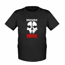 Детская футболка Eminem Survival