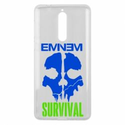 Чехол для Nokia 8 Eminem Survival - FatLine