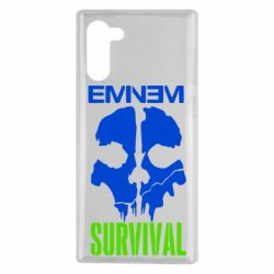 Чохол для Samsung Note 10 Eminem Survival