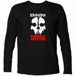 Футболка с длинным рукавом Eminem Survival - FatLine