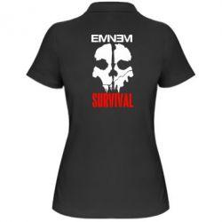 Женская футболка поло Eminem Survival - FatLine