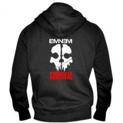 Мужская толстовка на молнии Eminem Survival - FatLine