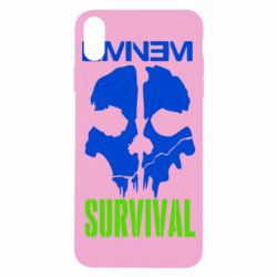 Чехол для iPhone X/Xs Eminem Survival