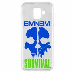 Чохол для Samsung A6 2018 Eminem Survival