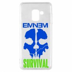 Чохол для Samsung A8 2018 Eminem Survival
