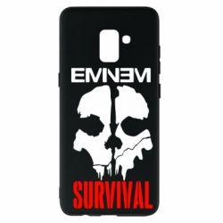 Чохол для Samsung A8+ 2018 Eminem Survival