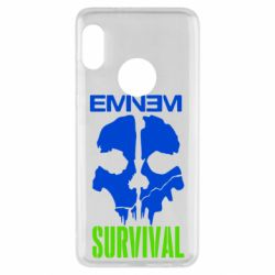 Чехол для Xiaomi Redmi Note 5 Eminem Survival - FatLine