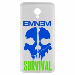 Чехол для Meizu M5 Note Eminem Survival - FatLine