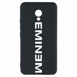 Чехол для Meizu M5 Eminem - FatLine
