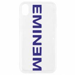 Чехол для iPhone XR Eminem - FatLine