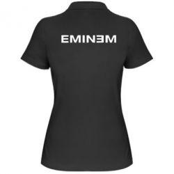 Женская футболка поло Eminem - FatLine