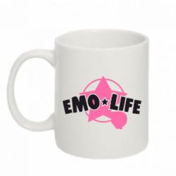 Кружка 320ml Emo life - FatLine