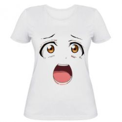 Женская футболка emotion 2