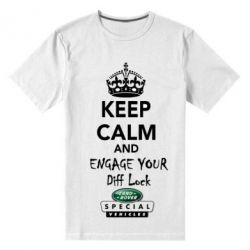 Мужская стрейчевая футболка Engage your diff lock