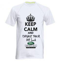 Мужская спортивная футболка Engage your diff lock