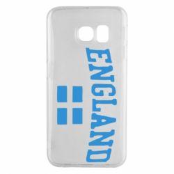 Чехол для Samsung S6 EDGE England