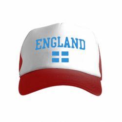 Дитяча кепка-тракер England