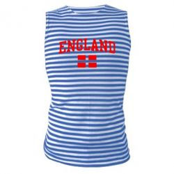 Майка-тельняшка England - FatLine
