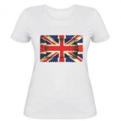 Женская футболка England - FatLine